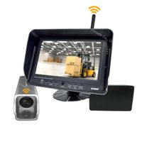 Wireless Rear View Camera System with Battery Power Bank for Forklift
