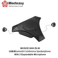 Meeteasy MVOICE-8000 EX-B USB/Bluetooth conference speakerphone microphone speaker