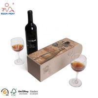 Wine Box Wholesale Luxury Design High Quality Custom Wine Box Packaging thumbnail image