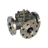 Three way ball valve