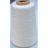 Polyester/viscose yarn