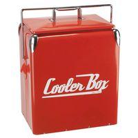 Metal cooler box