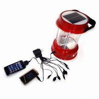 Solar Lantern with Mobile phone chargers & Radio thumbnail image