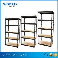 European warehouse storage galvanized boltless shelving system