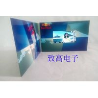 """4.3"""" lcd wedding invitation cards/vedio advertising brochure/promotional brochure/greeting card thumbnail image"""