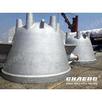 Foundry slag ladle for steel plant