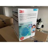 3M 1860 N95 Health Care Particulate Respirator and Surgical Mask