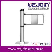 Single Pole Automatic Swing Barrier , Pedestrian Access Control Gates thumbnail image