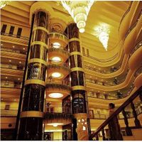 Panoramic Elevator with Glass Cabin for Sightseeing