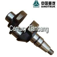 HOWO truck spare parts 8150013713  Air compressor crankshaft