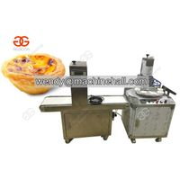 Automatic Portuguese Egg Tartle Making Machine|Pastel de nata MachineNew Design