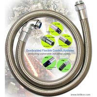 Delikon Automation heavy series over Braided Flexible steel Conduit HEAVY SERIES FLEXIBLE SHEATH ove