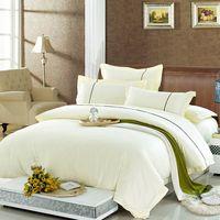 100%cotton luxury hotel bed sheet, cheap flat sheet thumbnail image