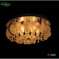 2016 Hot Selling Round Crystal Led Ceiling Lights With MP3 And Remove Control