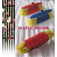 HQ0153 Italian screw red color indoor soft broom W/TPR,protect furniture while cleaning thumbnail image