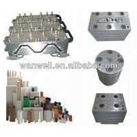 Special PVC profile extrusion moulds