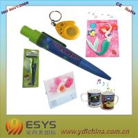 Promotional gift with sound or LED flash