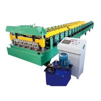 Flat Sheet Roll Forming Machine