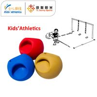 550g medicine ball with handle for kids athletics