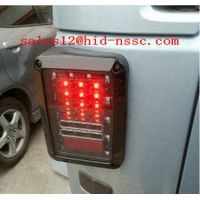 China factory wholesale Pair 07-15 US Jeep Wrangler JK LED Brake Tail Lights Rear Signal Reverse Lam