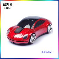 3D Car Mouse Design 2.4Ghz Car Shape Wireless Optical Mouse