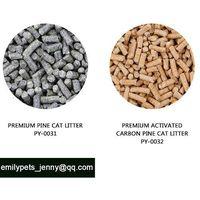 Pine cat litter