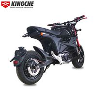 KingChe Electric Motorcycle M6 customized electric motorcyclewhite electric motorcycle  thumbnail image