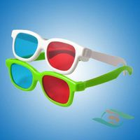 High quality red cyan 3d glasses thumbnail image