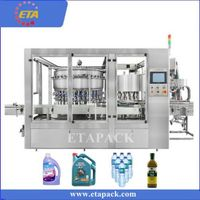 High speed liquid filling capping machine