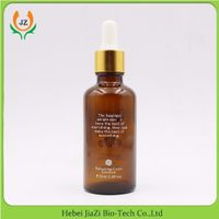 30ml amber glass dropper bottles with gold aluminum lid