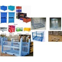 Storage wire mesh pallet container thumbnail image
