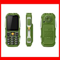 2.4inch Factory Sale Unlocked Phone Outdoor Mobile Waterproof Feature Phone with Power Bank and Torc