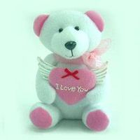 Valentine Decorations - Bear with Heart