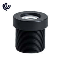 """Low Distortion 1/1.8"""" 16mm M12 Lens for Industrial Camera"""