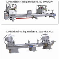 Aluminum Windows Double Head Miter Saw Cutting Machine