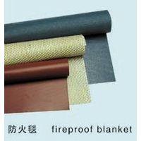 silicone coated fiberglass fire blanket thumbnail image