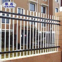 Dependable Durable Material Eco-friendly Galvanized Zinc Steel Fence