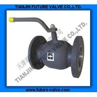 GOST Flanged End All Welded Ball Valve