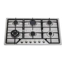 Professional OEM 6 burners Gas Cooktop, gas cooktop 6 burners thumbnail image