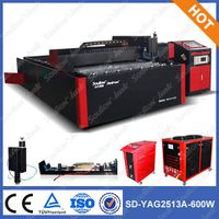 SD-YAG2513 professional thin metal plate laser cutter machines china