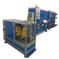 Optical fiber ribbon making machine