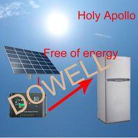 Solar DC fridge 109L double door