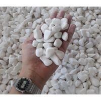 Natural Snow White Pebble For Decoration