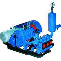 BW-250 triplex Mud pump slurry pump for core drilling with 250L/m displacement diesel engine motor thumbnail image