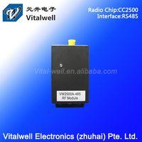 VW2500A 1mW 2.4ghz rx tx remote control rs485 converter thumbnail image