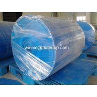 Polypropylene corrugated plastic rolls