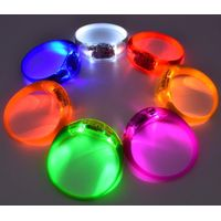 Voice Activated Sound Control Led Glow Flashing Bracelet Bangle Wristband 7pcs Assorted Colors, Reac thumbnail image