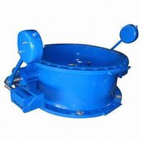 JR-CK-17 Butterfly type check valve with counter weight and cylinder thumbnail image