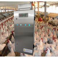 UV ozone generator for poultry chicken farm odor odour airborne diseases control