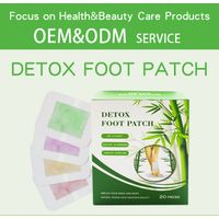 Amazon hot sale 50pcs Cleansing Detox Foot Kinoki Pads Cleanse & Energize Your Body Relax Patch thumbnail image